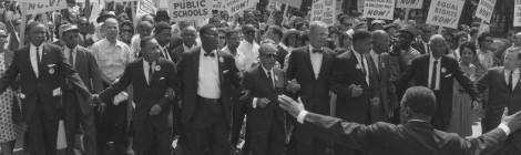Le mouvement des droits civiques aux Etats-Unis